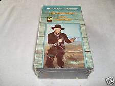 HOPALONG CASSIDY - 2 VHS TAPE SET NEW- THE SHOWDOWN & COLT COMRADES