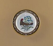 State Birds and Flowers Miniature Plate Alaska Willow Ptarmigan Forget-me-not