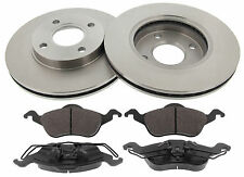 Kit Dischi Freno Ø 258mm + Pastiglie Anteriore Ford Focus I 1.8TDCi 74_85 KW