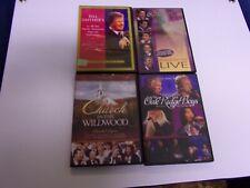 DVD LOT OF 4 GAITHER GOSPEL CONCERTS