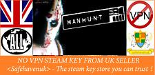 Manhunt Steam key NO VPN Region Free UK Seller