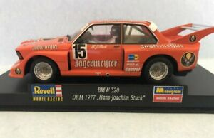 Revell Monogram  BMW 320 DRM 1977 Jagermiester livery.VG/B Scalextric compatible