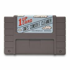 SNES Console Cleaner - Super Nintendo Cleaning Cartridge by 1UPcard™