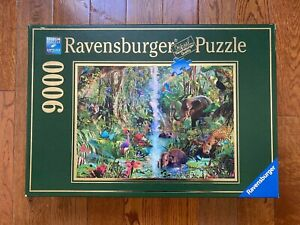 1/2 SEALED Ravensburger 9000 JUNGLE ANIMALS 17801