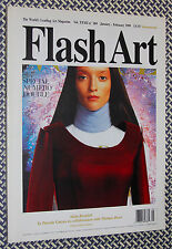 Vintage FLASH ART, #204, Chris Ofili, Ernesto Neto, Katharina Sieverding