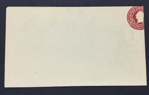 MOMEN: US STAMPS #U429m 1915 ENTIRE DIE 8 DBL IMPRESSION CAT $1,750 LOT #72490