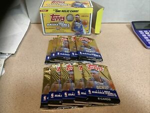 2009-10 Topps NBA Blaster Box opened but all packs still intact & Factory Sealed