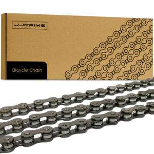 Grey Steel Bicycle Chain 5, 6, 7 Speed Gear Mountain Bike Road Hybrid Cycle