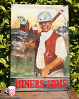 "Vintage Pub Sign 'Miners Arms' Single Sided, Hand Painted on Aluminium 30""x44"""
