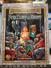 TSR AD&D 2nd Ed. - For Duty & Deity - F-VF+ - OOP 9574