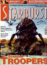 Starburst 233 (1999) Roddenberry legacy, Babylon 5, Starship Troopers, Next Gen