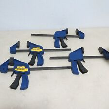 """Irwin Quick-Grip 12"""" One-Handled Bar Clamp/Spreader Lot Of 4"""