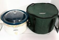 Rival Crock-Pot Slow Cooker Model 3355 With Insulated Carry Case Travel Bag