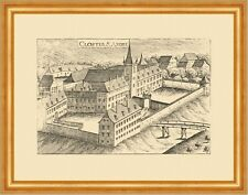 St. Andrä a. d. Traisen Kloster Vischer Österreich Burgen und Schlösser 678