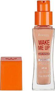 Rimmel WAKE ME UP Foundation Anti-Fatigue Vitamin C, 010 Light Porcelain 30ml