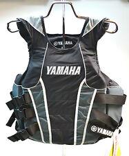 Yamaha Side Entry Life Vest Lifevest Three Buckle SM/MD Black MAR-10VSE-BK-SD