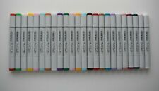 24 COPIC SKETCH BRUSH PENS **FANTASTIC ASSORTED NEW COLLECTION** SET G rrp £240