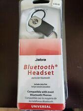 Jabra Universal Bluetooth Headset Model VBT2050 (NEW-Sealed)