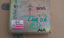 JDM NISSAN S13 SILVIA CA18DE M/T ECU 23710 35F00 #1835-AX