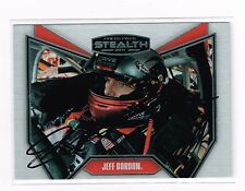2011 PRESS PASS STEALTH JEFF GORDON HAND SIGNED AUTOGRAPH CARD#83