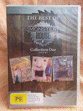 THE BEST OF MONSTER HOUSE COLLECTION 1 COMPLETE 5 DISC  BOXSET R4 PG DVD