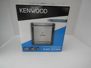 New Kenwood KAC-D3104 600 Watts Max Power 4-Channel Car Audio Amplifier