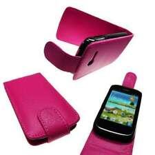 caseroxx Flip Cover für Samsung S5300 Galaxy Pocket in pink aus Kunstleder