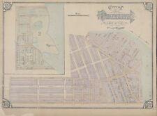1877 E. ROBINSON, CITY OF PATTERSON WARDS 1 & 2, NEW JERSEY, COPY PLAT ATLAS MAP