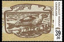 Groenland 2017  Bankbiljetten op postzegel 2    postfris/mnh.