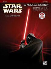Star Wars I-VI (clarinet/CD); Williams, John, Clarinet and piano albums - 32104
