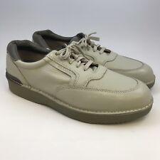 Mason Shoe Walkabout Men's Leather Oxford Leather Bone 15 D Casual Crepe Sole