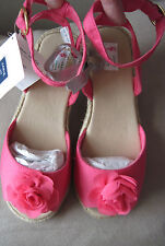 NWT Janie and Jack Girls South Beach Beauty Pink Blossom Sandals/Shoes Size 2k