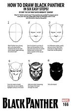 BLACK PANTHER 166 CHIP ZDARSKY HOW TO DRAW VARIANT NM LEGACY TIE