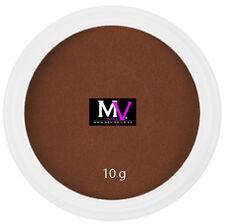 Polvere  Acrilica Marrone Professionale Mevinails 10 gr -  Porcelna unghie