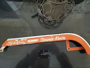 1973 Schwinn Orange krate sunset orange original paint w/ old original decal OG