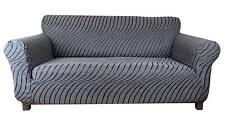 Elastic Slip Sofa Cover 1 2 3 seater WAVE (grigio perla)