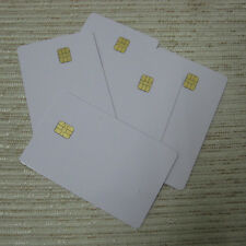 10 PCS ISO 7816,white Blank PVC with SLE 4442 Contact Smart IC Card