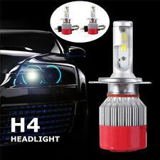 2x H4 110W 9200LM Bi-Xenon Hi/Lo COB LED Auto car Headlight Conversion Kit