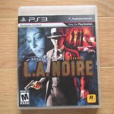 PS3 - L.A. NOIRE (PlayStation 3, 2011, la noire, Complete) Great Condition