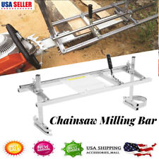 36in Chainsaw Mill Milling Cutter Bar Set Accessory Woodworking Cutting Tool