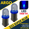 233 T4w Ba9s T11 Mcc Rw233 Super LED Xenon Ice Cool Azul Hid Bombillas 12v