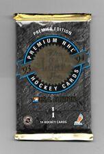 1993-94  LEAF HOCKEY , SERIES 1 , U.S.A. EDITION , 1 PACK      ( SEALED )