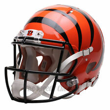 CINCINNATI BENGALS RIDDELL NFL FULL SIZE AUTHENTIC SPEED FOOTBALL HELMET