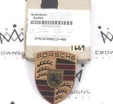 PORSCHE 991 981 BOXTER CAYMAN FRONT BONNET CAYMAN HOOD EMBLEM  OEM 99155921100