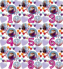 Frozen 2 Party Supplies Birthday Balloon Decoration Bouquet (Choose Your Age)