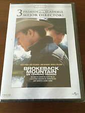 BROKEBACK MOUNTAIN EN TERRENO VEDADO - 1 DVD - 137 MIN - HEATH LEDGER - ANG LEE