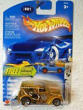 FREE ATOMIX MINI CAR - Boulevard Buccaneers - 2003 HOT WHEELS ANGLIA PANEL #081