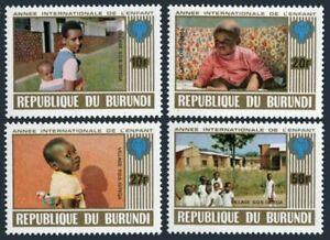 Burundi 557-560,B82 ad sheet, MNH. Mi 1497-1500, Bl.109. Year of Child IYC-1979.