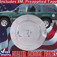 1998 1999 2000 2001 EXPLORER Chrome ABS Gas Door Cover Trim Overlay Fuel Cap
