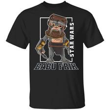 Star Wars The Rise Of Skywalker Babu Frik Portrait 2020 T-Shirt Tee Shirt